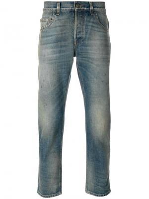 Зауженные джинсы Gucci. Цвет: синий