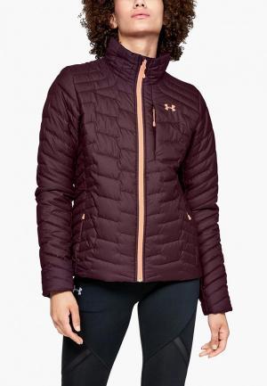 Куртка утепленная Under Armour. Цвет: бордовый