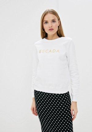 Свитшот Escada Sport. Цвет: белый
