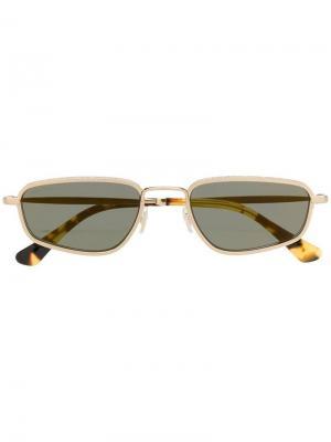 Солнцезащитные очки Gal Jimmy Choo Eyewear. Цвет: золотистый