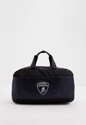 Сумка дорожная Automobili Lamborghini. Цвет: черный