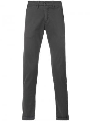 Классические брюки-чинос Re-Hash. Цвет: серый