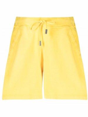 Спортивные шорты с логотипом Dsquared2. Цвет: желтый