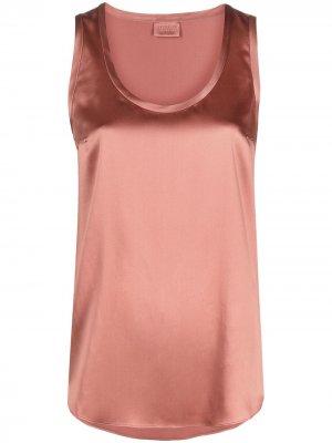 Scoop-neck vest top Brunello Cucinelli. Цвет: розовый