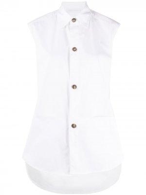 Рубашка без рукавов Société Anonyme. Цвет: белый