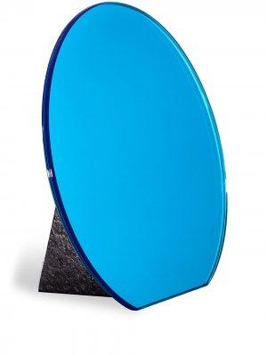 Настольное зеркало Dita Pulpo. Цвет: синий