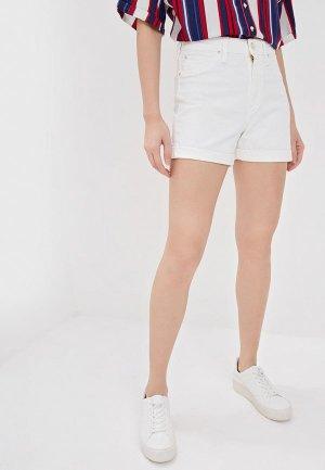 Шорты джинсовые Lee. Цвет: белый