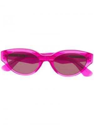 Солнцезащитные очки Drew Retrosuperfuture. Цвет: розовый