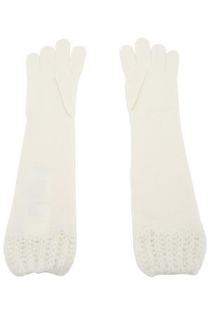 Перчатки Pennyblack. Цвет: белый
