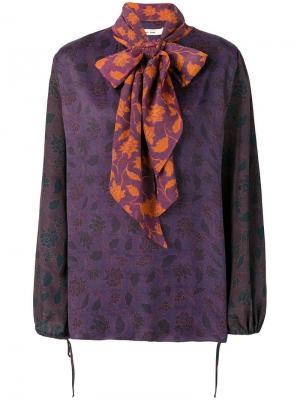 Блузка Saga Damir Doma. Цвет: фиолетовый