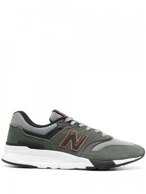 Кроссовки 997 New Balance. Цвет: зеленый