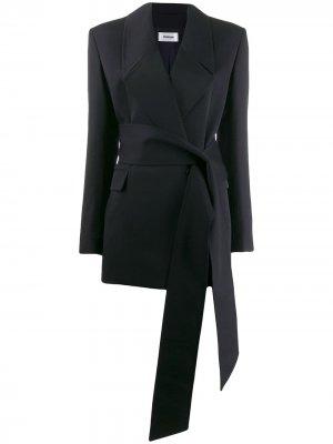 Пиджак с поясом Chalayan. Цвет: синий