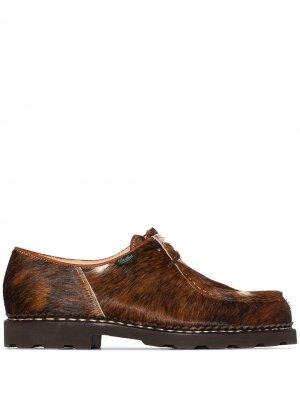 Туфли Michael на шнуровке Paraboot. Цвет: коричневый