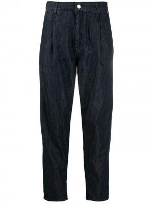 Зауженные джинсы с завышенной талией Essentiel Antwerp. Цвет: синий