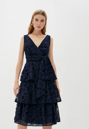 Платье True Decadence. Цвет: синий