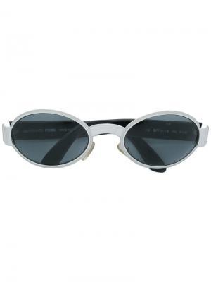 Солнцезащитные очки Gianfranco Ferré Pre-Owned. Цвет: серебристый