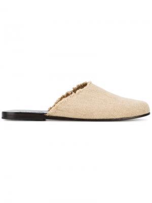 Сандалии Pasoumi Ancient Greek Sandals. Цвет: нейтральные цвета