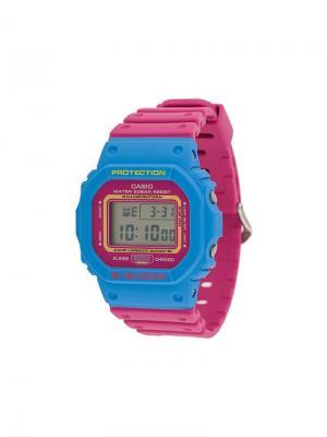 Часы DW-5600TB-4BER G-Shock. Цвет: синий