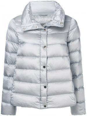 Melody puffer jacket Hetregò. Цвет: серый