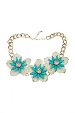 Ожерелье Victoria Le Land. Цвет: голубой