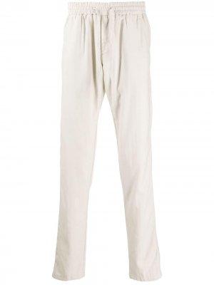 Легкие брюки с кулиской Corneliani. Цвет: нейтральные цвета