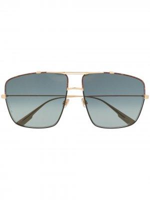 Солнцезащитные очки-авиаторы Monsieur 2 Dior Eyewear. Цвет: черный