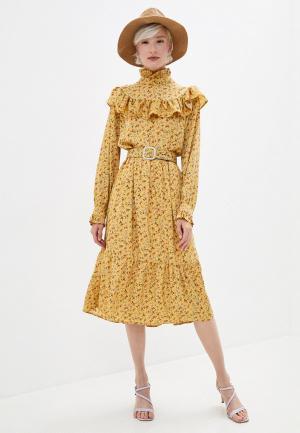 Платье Sister Jane. Цвет: желтый