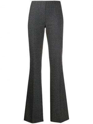 Расклешенные брюки P.A.R.O.S.H.. Цвет: серый