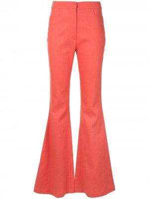 Расклешенные брюки Emerson Alexis. Цвет: розовый