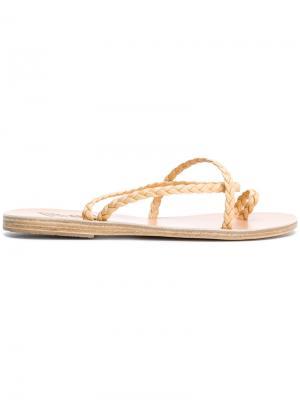 Сандалии Eleftheria Ancient Greek Sandals. Цвет: нейтральные цвета