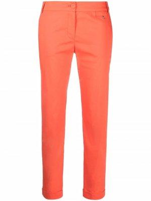 Укороченные брюки строгого кроя Patrizia Pepe. Цвет: оранжевый