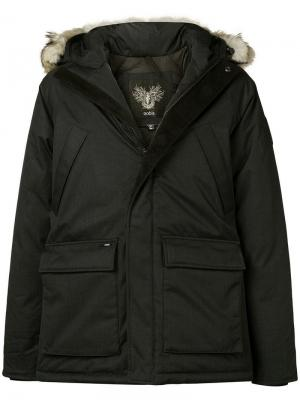 Heritage parka jacket Nobis. Цвет: черный