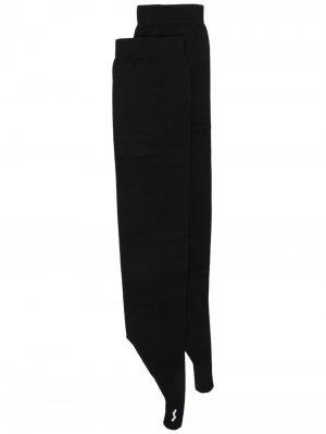Перчатки-митенки Ssheena. Цвет: черный