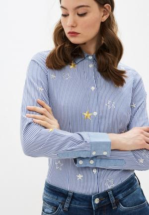 Рубашка Liu Jo. Цвет: синий