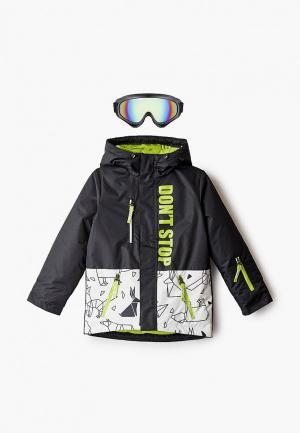 Куртка сноубордическая Boom. Цвет: черный