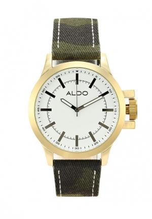 Часы Aldo. Цвет: хаки