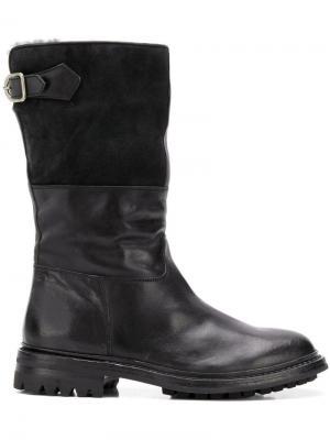 Ботинки Alix Officine Creative. Цвет: черный