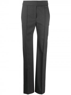 Расклешенные брюки с завышенной талией Alexandre Vauthier. Цвет: серый