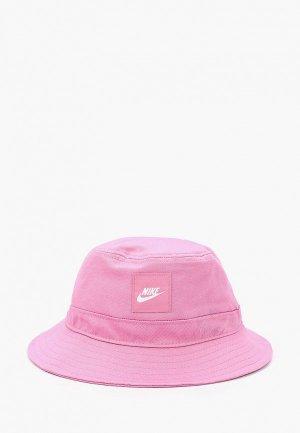 Панама Nike. Цвет: розовый