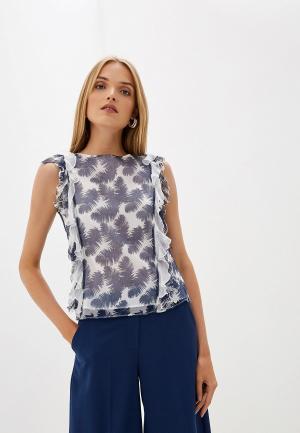 Блуза Blugirl Folies. Цвет: синий