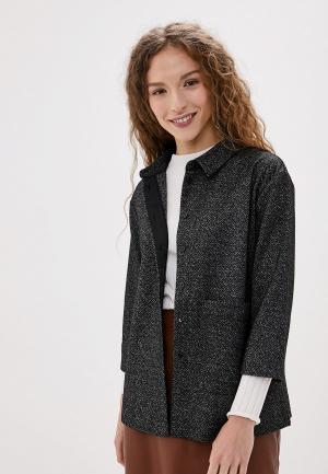 Блуза UNQ. Цвет: серый