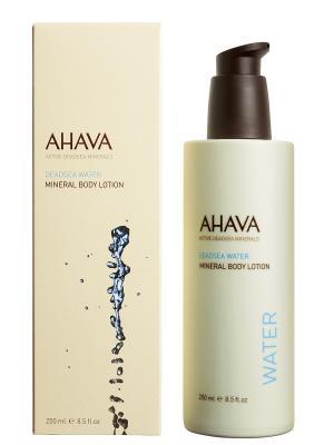 Лосьон для тела минеральный AHAVA. Цвет: прозрачный