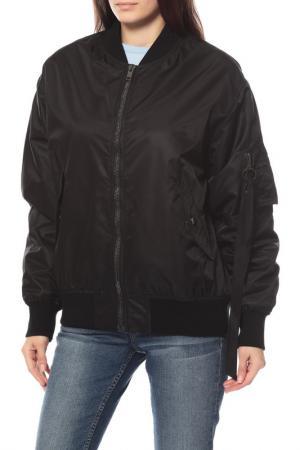 Куртка-бомбер Alexander Terekhov. Цвет: черный