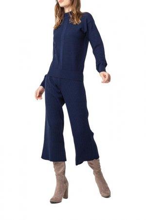 Комплект: свитер, брюки BGN. Цвет: navy