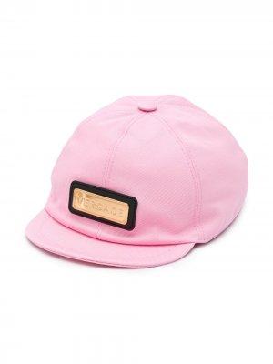 Кепка с логотипом Young Versace. Цвет: розовый