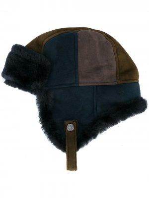 Шляпа в стиле колор-блок Paul Smith. Цвет: синий