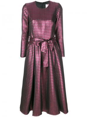 Платье с завязкой на талии Ultràchic. Цвет: розовый