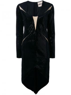 Платье с асимметричным подолом Aniye By. Цвет: черный