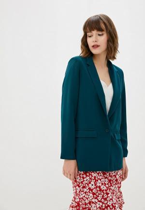 Пиджак Art Love. Цвет: зеленый