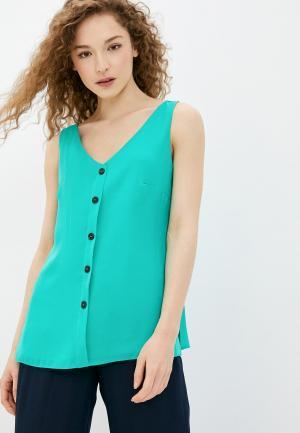 Блуза Wallis. Цвет: зеленый